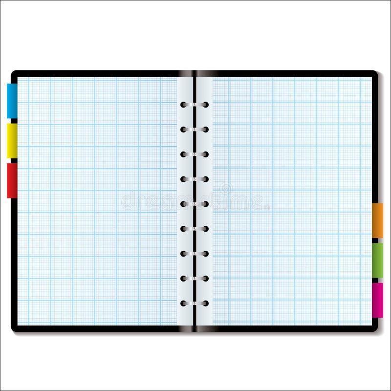 Gráfico del organizador stock de ilustración