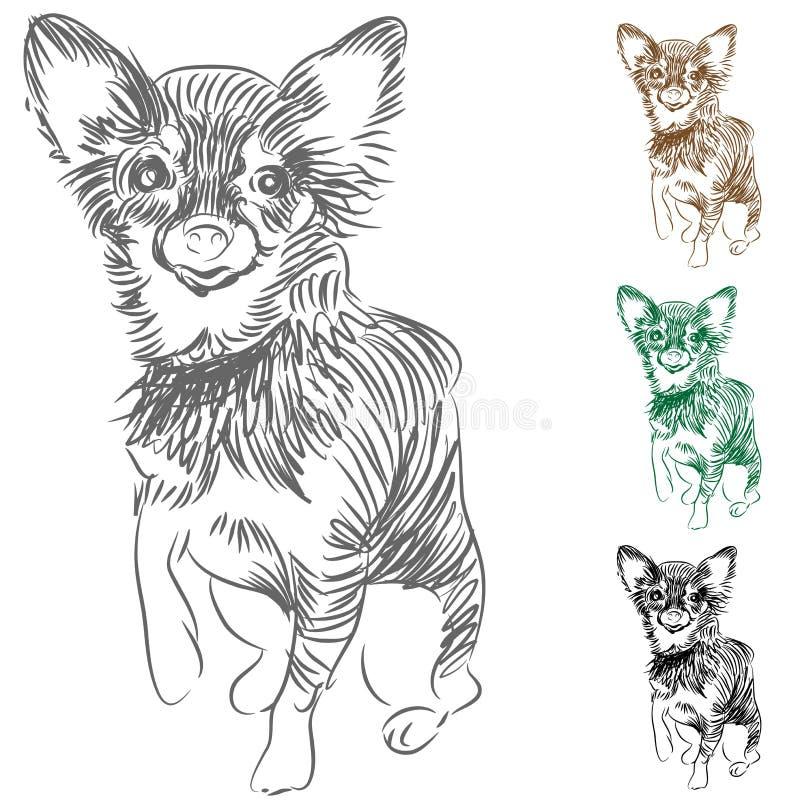 Gráfico del perro de la chihuahua