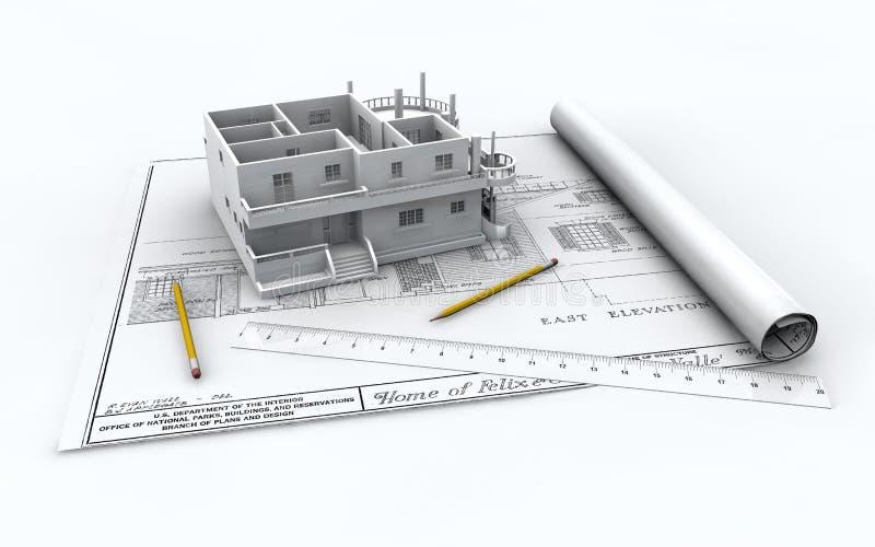 Gráfico del plan stock de ilustración
