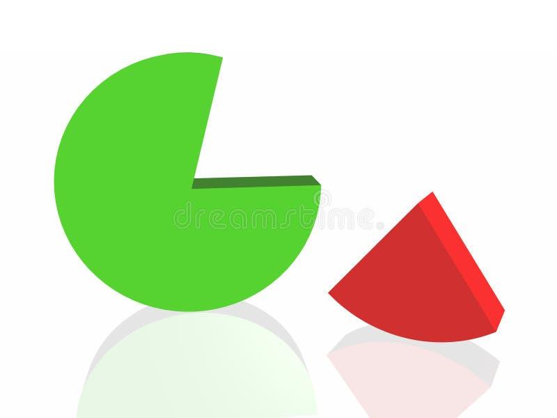 Gráfico do sucesso ilustração stock