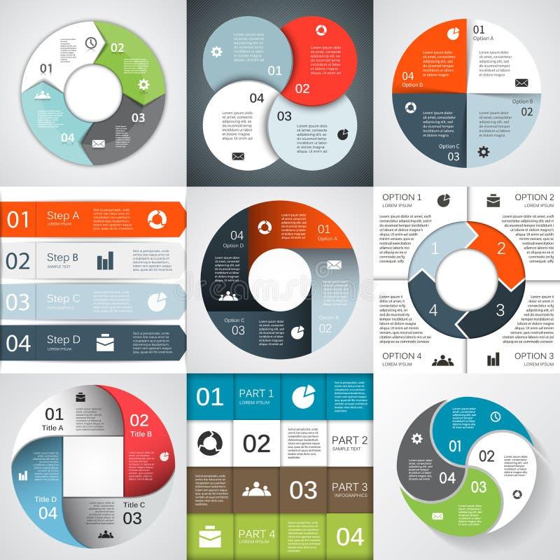Gráfico moderno de la información de vector para el proyecto del negocio libre illustration