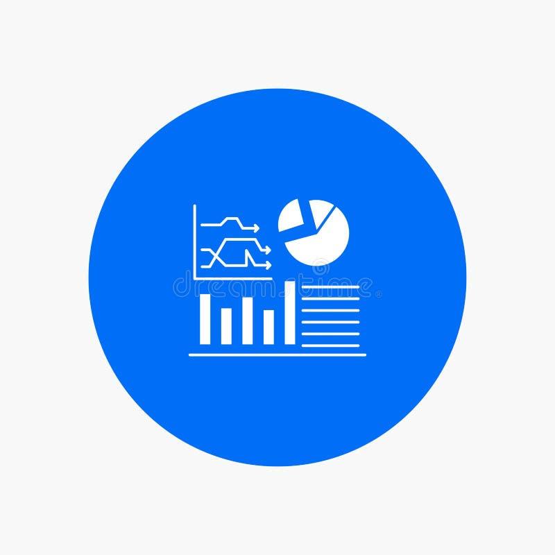 Gráfico, sucesso, fluxograma, negócio ilustração stock