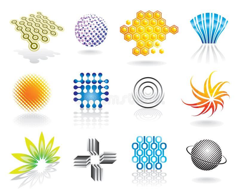 Gráfico Symbol_02 ilustração stock