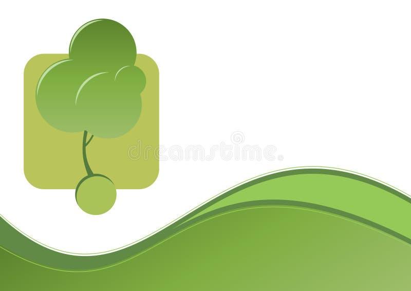 Gráfico verde del ambiente libre illustration