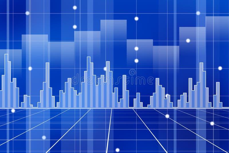 Gráficos ilustração stock