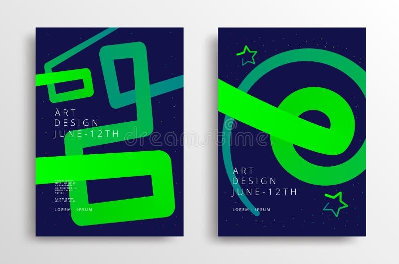 Gráficos da arte moderna ilustração stock