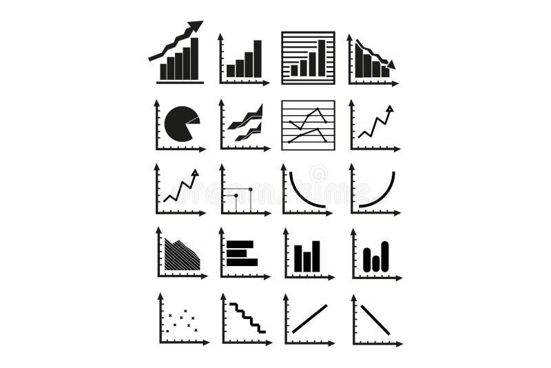 Gráficos de asunto ilustración del vector