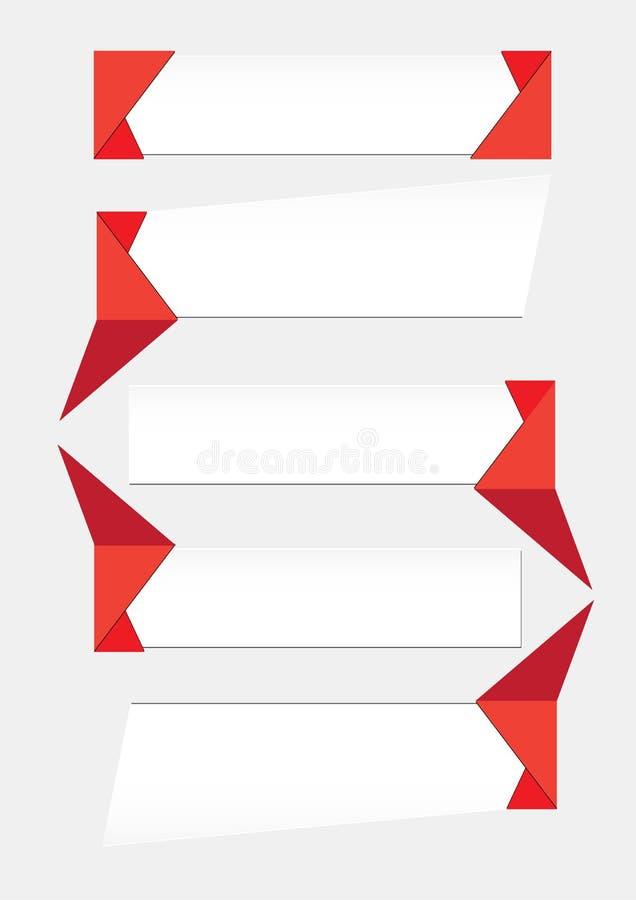 Gráficos de la información de vector para los iconos de las presentaciones del negocio o de la burbuja del web ilustración del vector