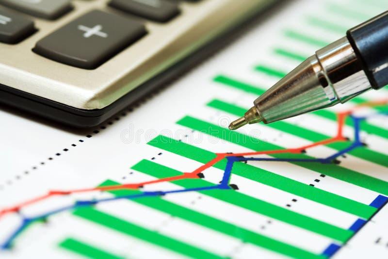 Download Gráficos de negócio. imagem de stock. Imagem de budgeting - 12808939