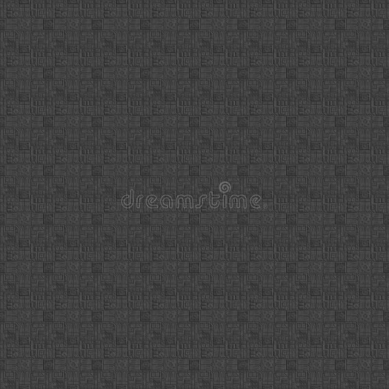 Gráficos de ordenador inconsútiles tileable de la textura de la ciencia ficción foto de archivo libre de regalías