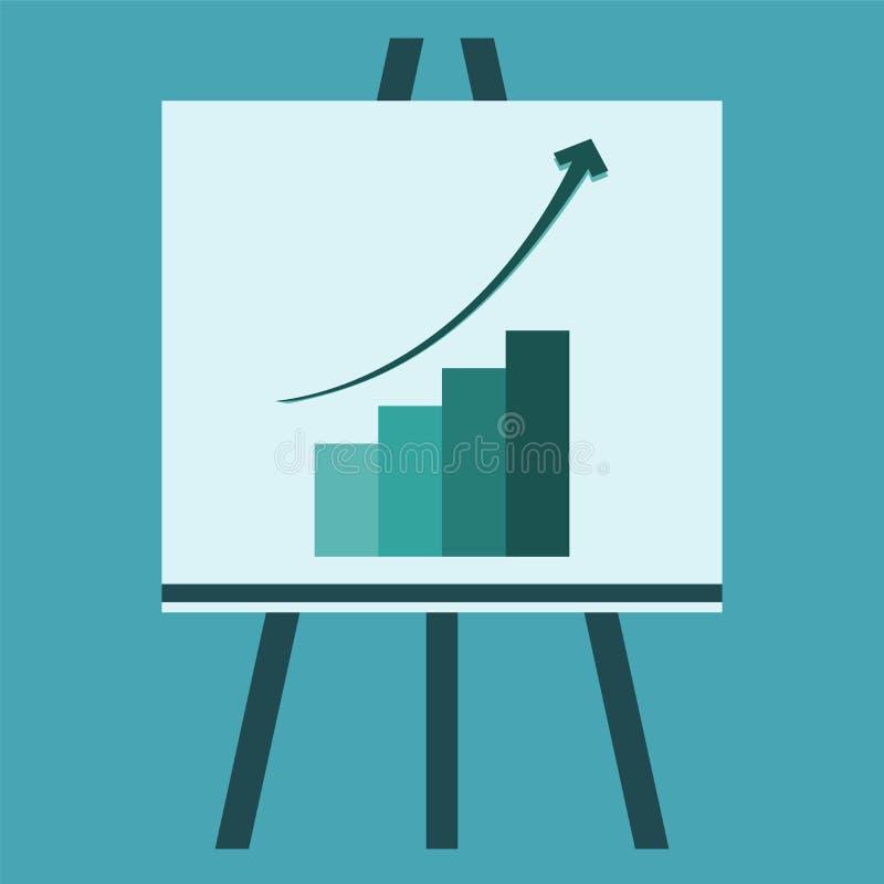Gráficos de presentación ilustración del vector