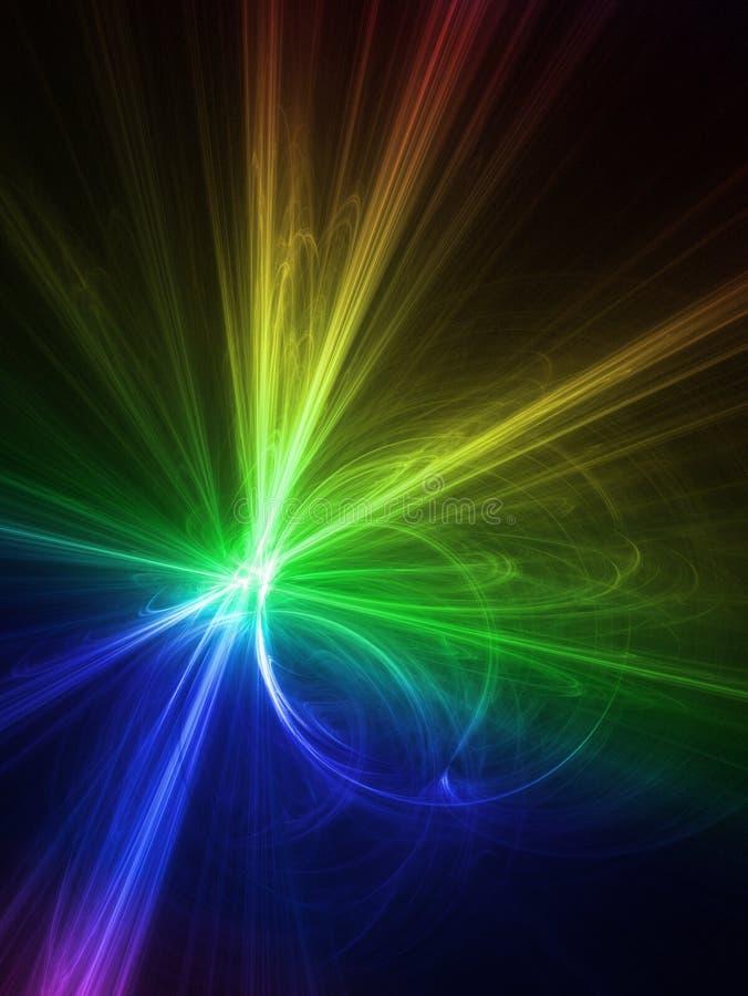 Gráficos del arco iris stock de ilustración