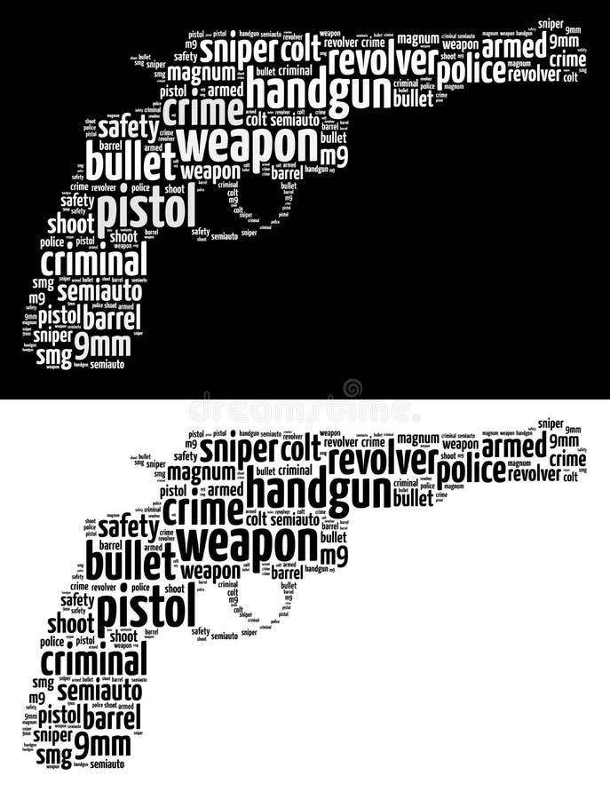Gráficos del arma stock de ilustración