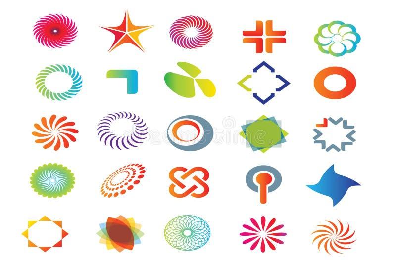 Gráficos del logotipo del vector ilustración del vector