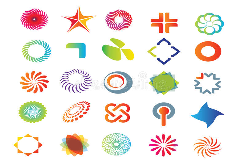Gráficos do logotipo do vetor ilustração do vetor