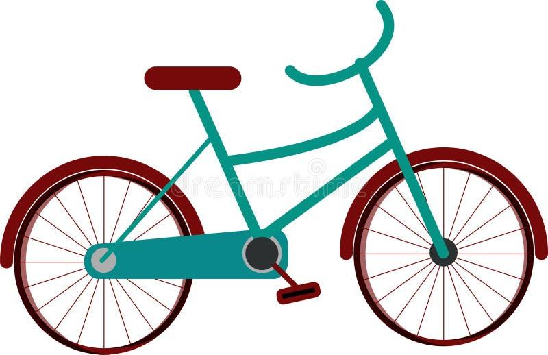 Gráficos EPS da ilustração da bicicleta das crianças das crianças disponíveis ilustração do vetor