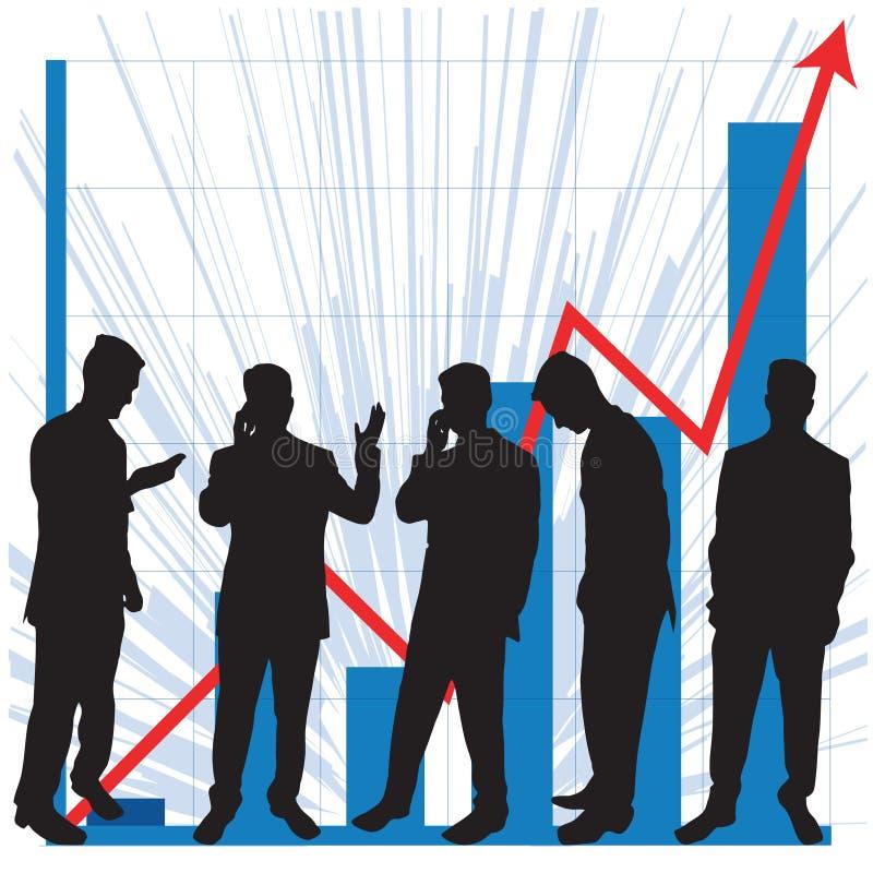 Gráficos para o uso do negócio ilustração royalty free