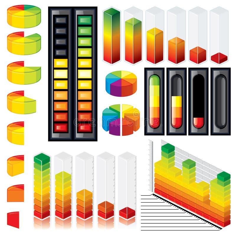 Gráficos y escalas adaptables libre illustration