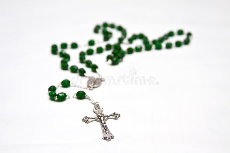 Grânulos católicos do rosário fotos de stock royalty free