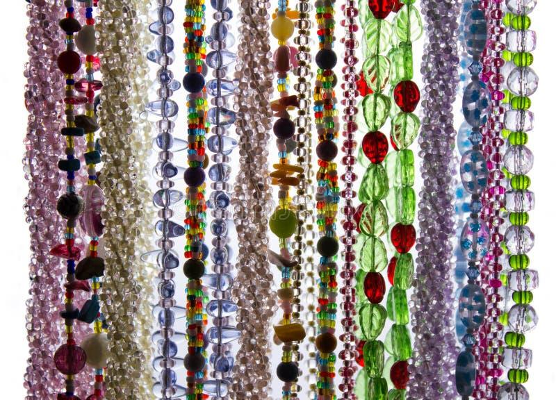 Grânulos coloridos foto de stock royalty free