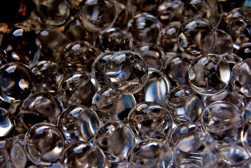 Grânulos da água imagem de stock