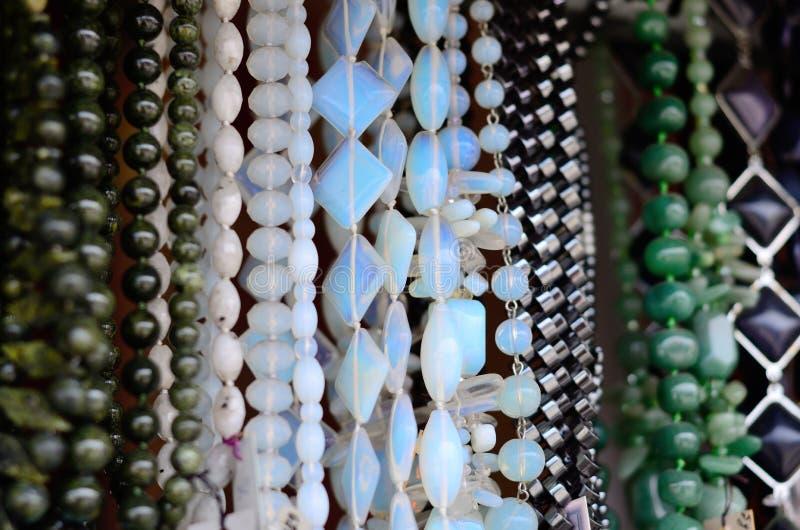 Grânulos feitos da pedra fotografia de stock