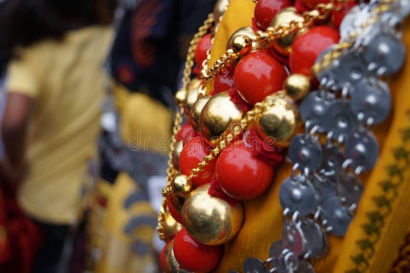 Grânulos Khasi tradicional fotos de stock royalty free