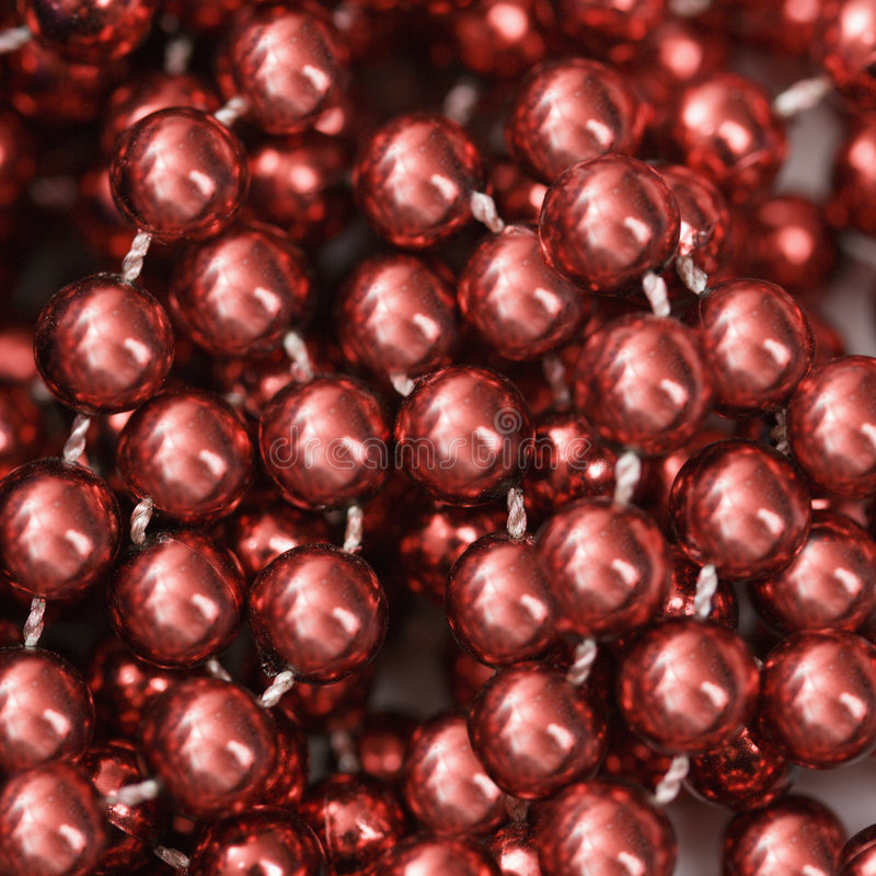 Grânulos vermelhos. foto de stock
