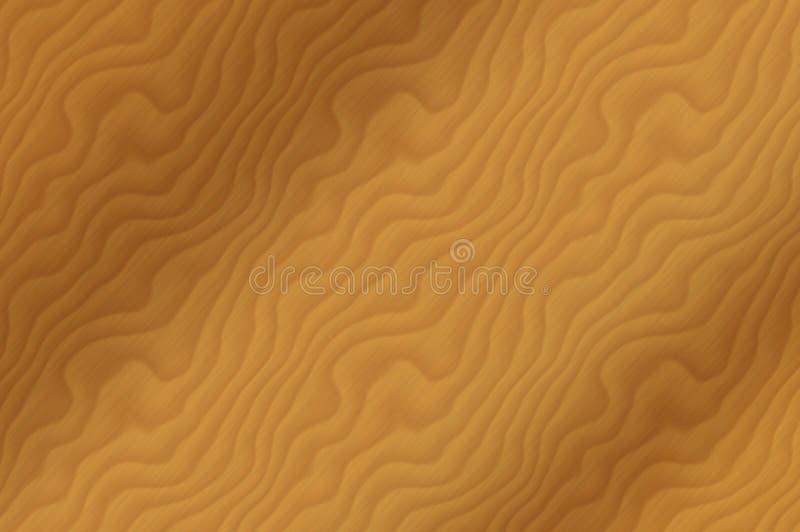 Grão da madeira de carvalho ilustração do vetor