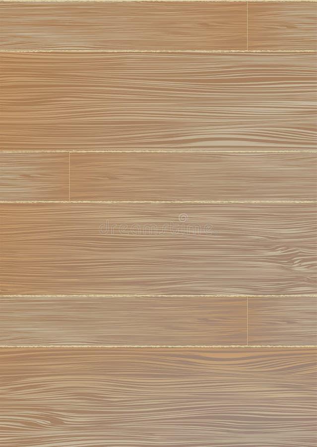 Grão de madeira pálida ilustração do vetor