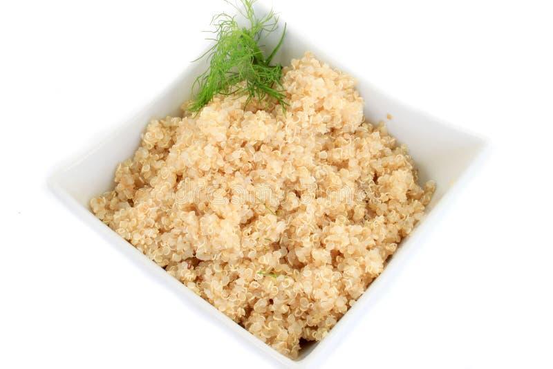 Grão do Quinoa imagens de stock royalty free