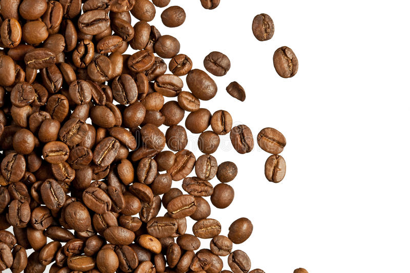 Grãos de café foto de stock royalty free