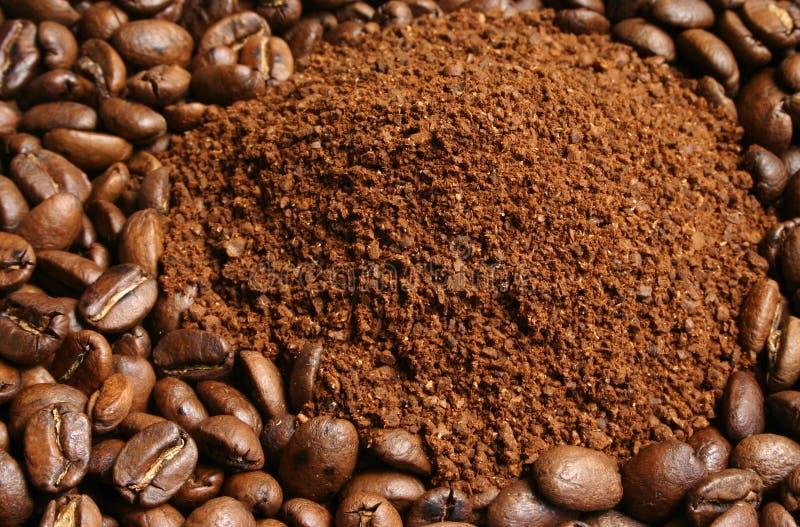Grãos de café fotos de stock royalty free
