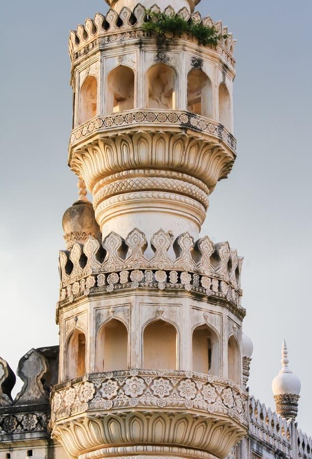 Gräber Qutb Shahi in Hyderabad, Indien stockfotos