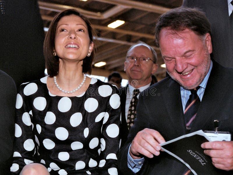 GRÄFIN ALEXANDRA MANLEY AN CIFF lizenzfreies stockfoto