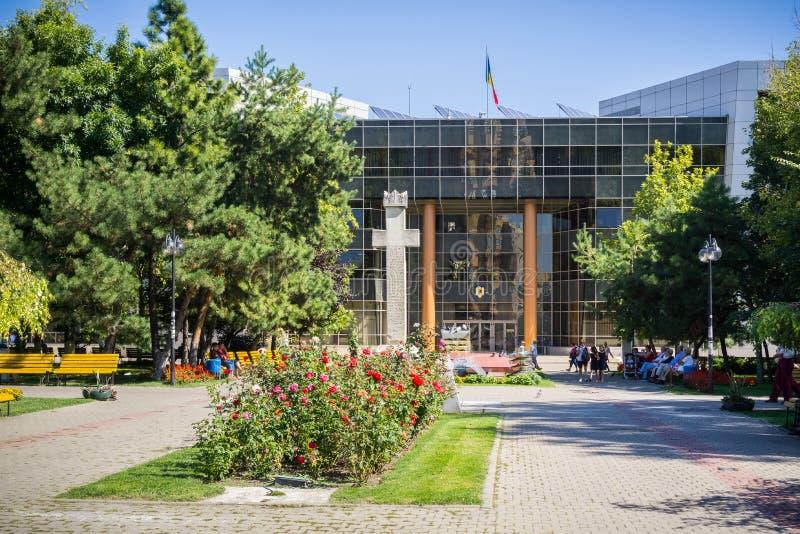 Gränd framme av stadshuset för område 2 royaltyfria bilder