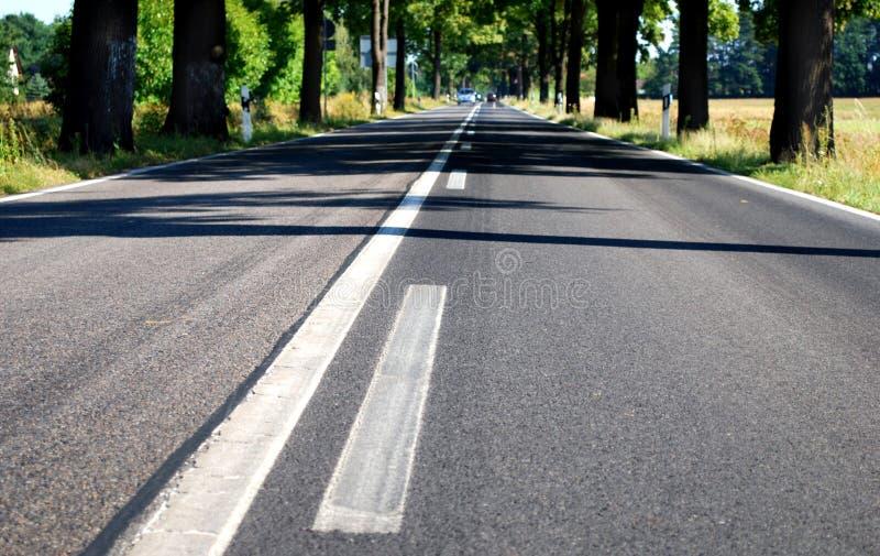 grändlandsväg arkivbild