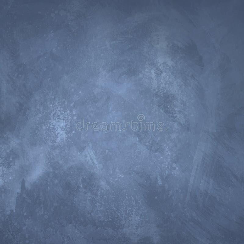 Gräns - blå grungebakgrund vektor illustrationer