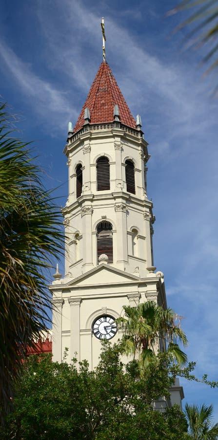 Gränsmärkebasilikan på St Augustine royaltyfria foton