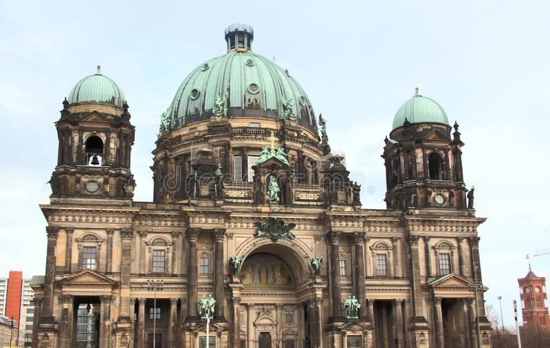 Gränsmärkedomkyrka av Berlin royaltyfria foton