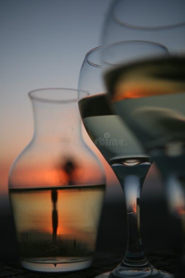Gräs av vin arkivfoton