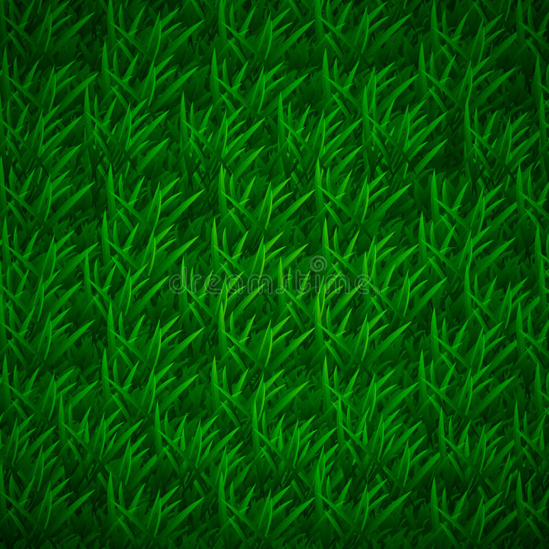 Gräs textur med lager av skuggning, gräs- bakgrund stock illustrationer