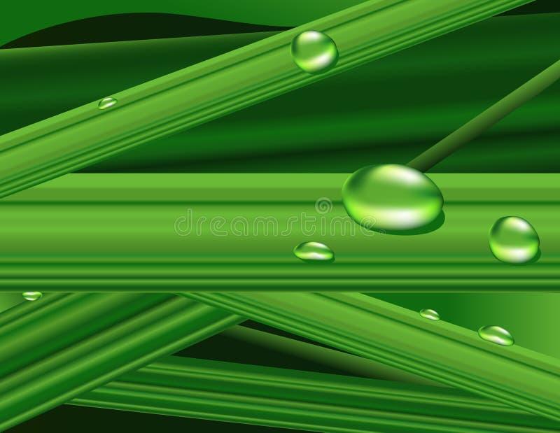 gräsgreen stock illustrationer