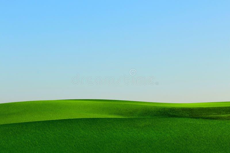 Gräslandskap arkivfoton