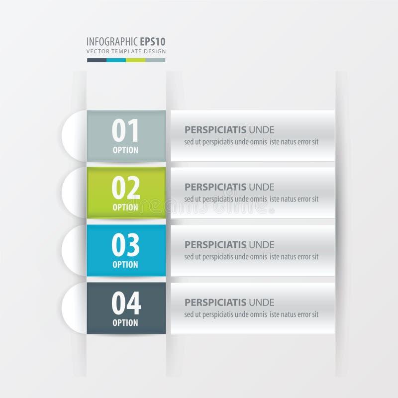 Gräsplan för banerorienteringsdesignen, blått, grå färger färgar vektor illustrationer