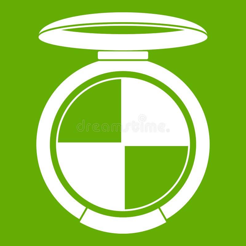 Gräsplan för skuggasatssymbol stock illustrationer