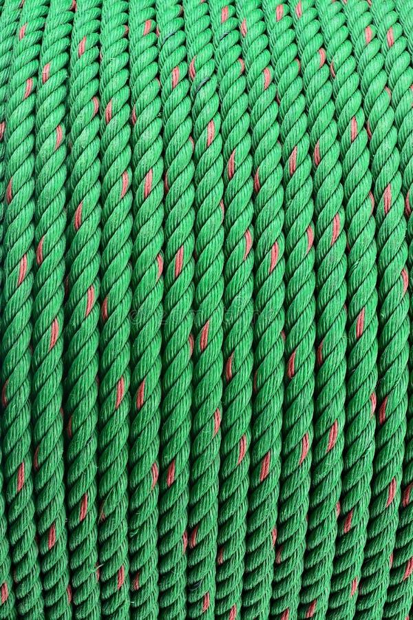Gräsplan ropes rullar royaltyfri foto