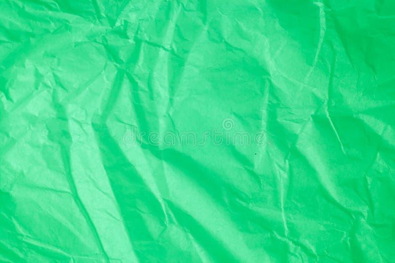 Gräsplan skrynklig pappers- bakgrund arkivbild
