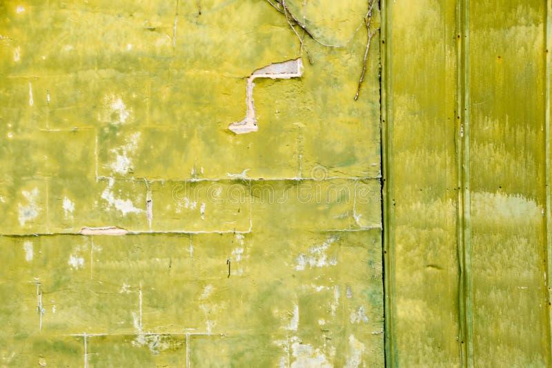 Gräsplan texturerad bedrövad Grungy bakgrund royaltyfri fotografi