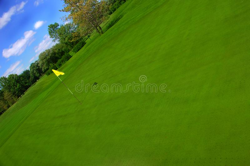 Gräsplanen fotografering för bildbyråer